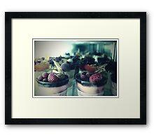dessert in Paris  Framed Print