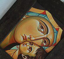 Mother of God 2 by Blagojce Petrovski