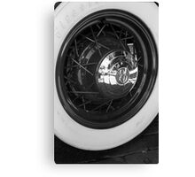 Spoked Canvas Print