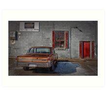 The Garage Art Print