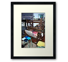 The Flax Mill...The Travelling Loom Framed Print