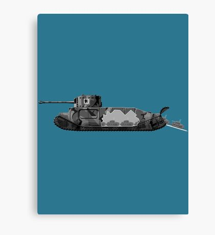 TOG II WW2 tank Canvas Print