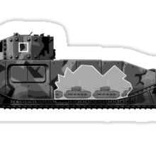 TOG II WW2 tank Sticker