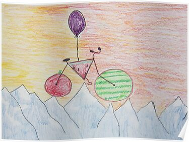 The Adventures Of The Floating Bike by daphsam