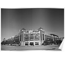 Texas Rangers Ballpark in Arlington Poster