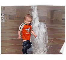 Fountains of Fun- Crown Center Poster