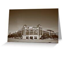 Texas Rangers Ballpark in Arlington Greeting Card