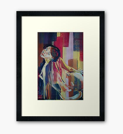 Nude Abstract 5260 Framed Print