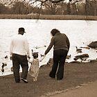 Walking Away- South Lake Park by Jennifer  Arganbright