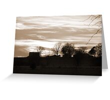 Old Fashioned Landscape Photogrpahy Greeting Card
