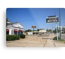 Route 66 - Boots Motel Metal Print