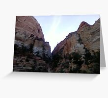 Mt. Zion National Park Greeting Card