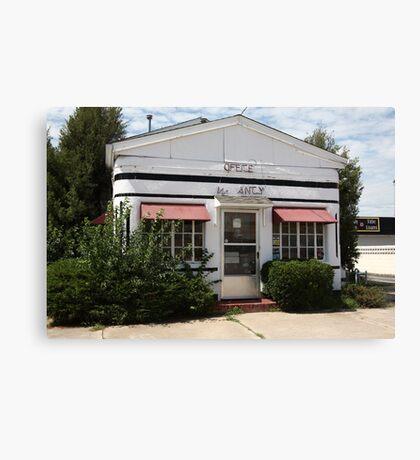 Route 66 - Boots Motel Canvas Print