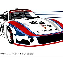 Porsche 935/78 Group 5 Moby Dick by car2oonz