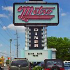 Route 66 - Metro Diner by Frank Romeo