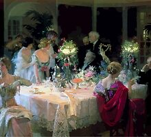 Jules Alexandre Grün The End of Dinner by wetdryvac
