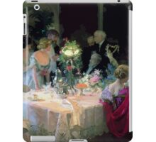 Jules Alexandre Grün The End of Dinner iPad Case/Skin