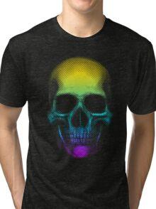 Vivid Skull Tri-blend T-Shirt