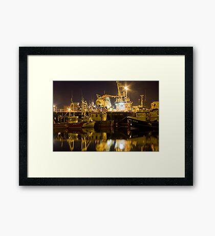 killybegs at night Framed Print