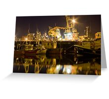 killybegs at night Greeting Card
