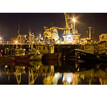 killybegs at night Photographic Print