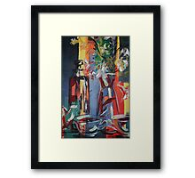 Still Life Abstract 5284 Framed Print