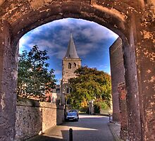 Rochester Cathedral from the Southgate by brianfuller75
