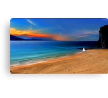 Just another day in paradise Canvas Print