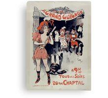 Jules Alexandre Grün Grand Guignol 1890 Canvas Print
