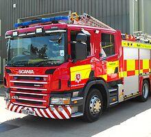 Scania Fire Truck by Andy Jordan
