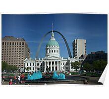 Downtown St Louis, USA Poster