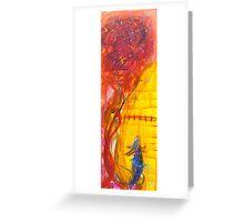 Into the faraway Greeting Card