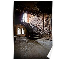 Crumbling Stairway Poster