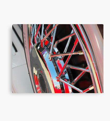 Shiney Spokes Canvas Print