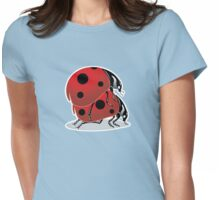 Secksy Ladybugs Womens Fitted T-Shirt