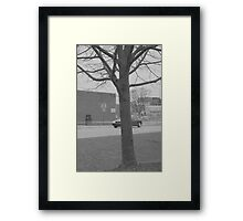 Stadium Entrance Framed Print