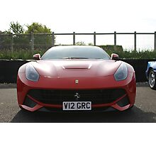 Ferrari F12 Photographic Print