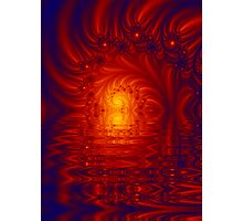 Deep calls to deep: Fire and glory in the Holy Place Photographic Print