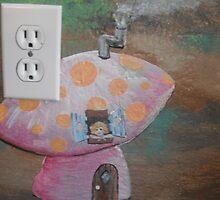 Fairy Mushroom House by Wendy Crouch