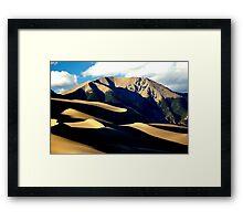 Dune Horizon Framed Print