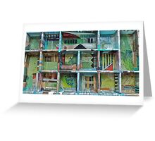 Empty Rooms Greeting Card