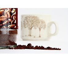 Anyone for a Coffee? Photographic Print