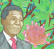 Nelson Mandela by Colin Bentham