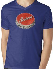 Serbesa Mens V-Neck T-Shirt