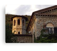 Tuscan Villa Stonework Canvas Print