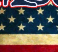 MC5 Flag Design Sticker