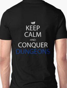 magi keep calm and conquer dungeons anime manga shirt T-Shirt
