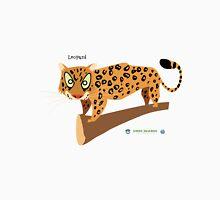 Leopard Caricature Unisex T-Shirt