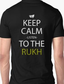 magi keep calm listen to the rukh anime manga shirt T-Shirt
