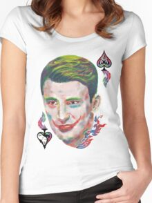 Captain Joker Women's Fitted Scoop T-Shirt